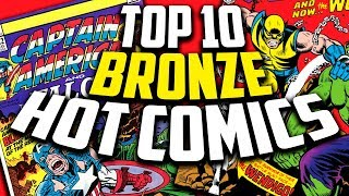Top 10 ALL TIME BRONZE AGE Comic Books - Overstreet 48th Edition 2018