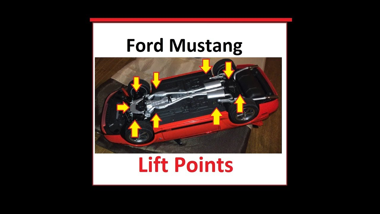 Lift points ford mustang 1994 2004 sn 95 new edge fox body as well