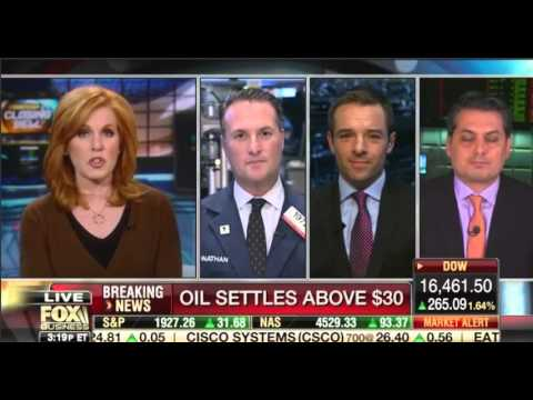 """Trent Wagner on Fox Business' """"Countdown to the Closing Bell"""" - February 17, 2016"""