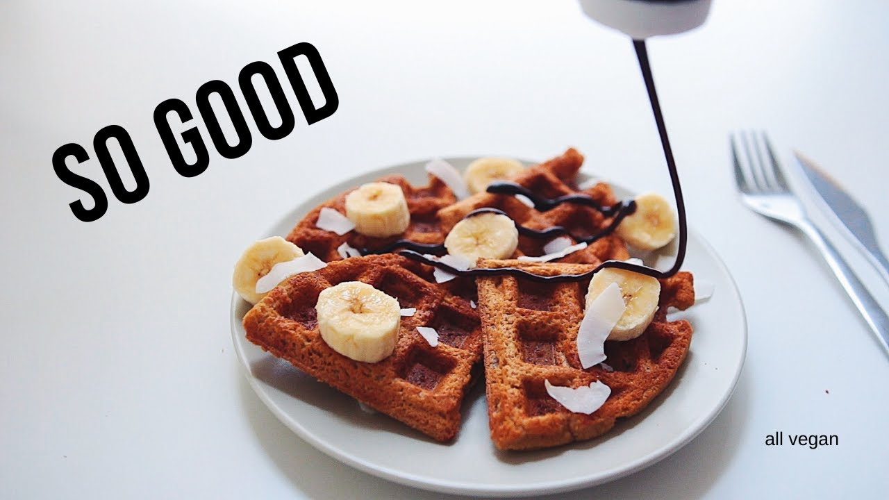 4 Vegan Waffle Recipes you simply must try
