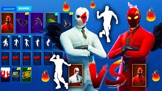 *New* INFERNO Leaked Skin Vs Wild Card Skin And Emotes - Fortnite Battle Royale