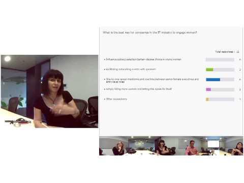 Microsoft and Girl Geek Coffees Women in Tech Webinar