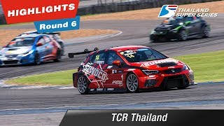 Highlights TCR Thailand : Round 6 @Chang International Circuit