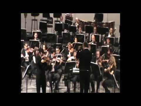 Mendelssohn violin concerto E-minor op.64, Mohamed Sharara & CSO