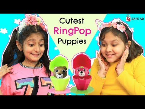 22 Cutest RingPop Puppies ... | #Collectible #LetsPlay #Toys #Unboxing #RolePlay #Topps #MyMissAnand