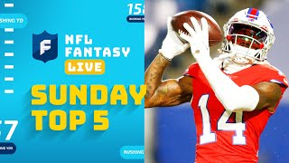Top 5 Players Who Will BALL OUT on Halloween | NFL Fantasy Live screenshot 4