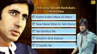 Best Of Amitabh Bachchan - JukeBox - Full Songs - Evergreen Bollywood Hits
