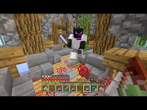 Minecraft Xbox - Floating Island Hunger Games - Round 1