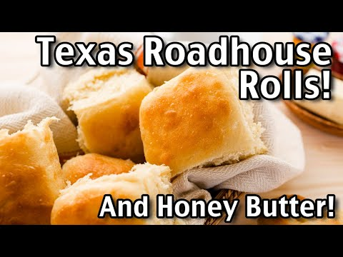 Texas Roadhouse Rolls And Honey Butter!