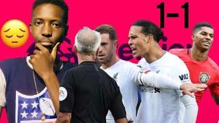Manchester United vs Liverpool 1-1 | premier league 2019-2020