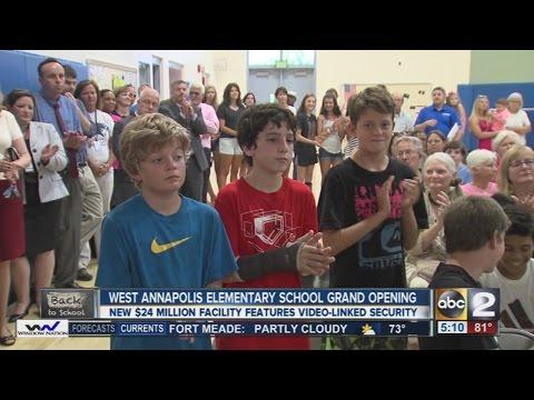 West Annapolis Elementary School celebrates new building