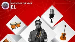 EL - Wins 'Artiste of the Year' @ 2016 Vodafone Ghana Music Awards | GhanaMusic.com Video
