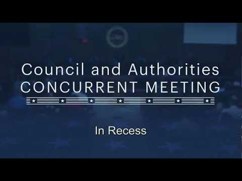 Council and Authorities and Stadium Authorities Meeting 20180508 Part 2
