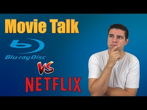 Movie Talk  Physical media vs Online streaming