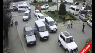 Truck accident in Giresun