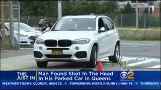Man Found Shot In Parked Car In Queens
