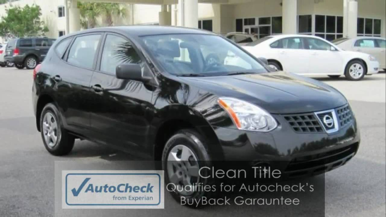 Rogue 2009 Nissan Rogue S Awd Great Gas Mileage Sporty
