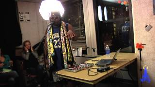 #TBT MH The Verb - Melly's Walls (Live On WPTS Radio)