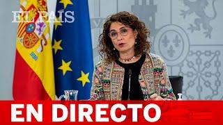 DIRECTO   Rueda de prensa posterior al CONSEJO DE MINISTROS