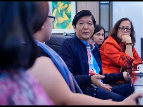 Sen. Bongbong Marcos - Round table discussion at philstar