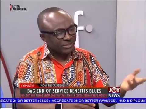 BoG end of service benefits blues - Newsfile on Joy News (8-10-16)