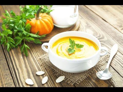 Тыквенный суп-пюре очень полезный и вкусный - PUMPKIN SOUP