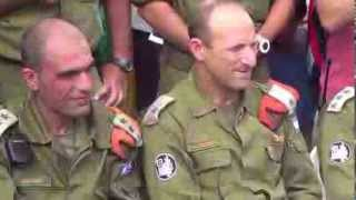 Israel Generals welcomed to Bogo Central School II