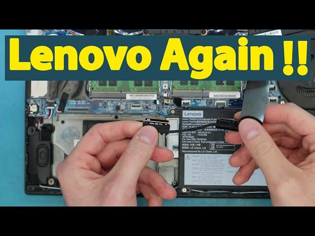 Lenovo ThinkPad P51S Hard Disk HDD Connector Fail Repair