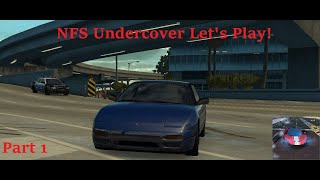 Need For Speed Undercover Let's Play Part 1: INTRO & FIRST CAR!