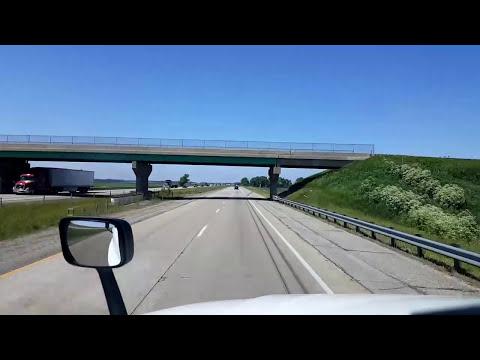 BigRigTravels LIVE! - De Motte, Indiana to Sturtevant, Wisconsin - Interstates 65, 94  - 6/5/17