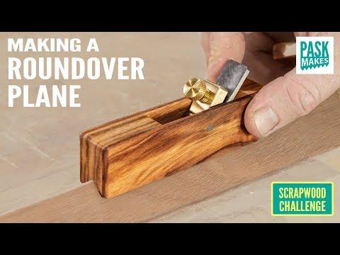 Making a Roundover Plane - Scrapwood Challenge Ep36