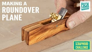Making a Roundover Plane - Scrapwood Challenge Ep36