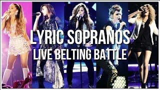 Lyric Sopranos' Live Belting Battle!