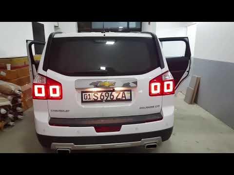 Переделка обычная фара на светодиодный Chevrolet Orlando