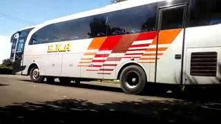 kesibukan terminal bus sragen