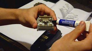 Машинка для стрижки волос  Обслуживание(Обслуживание машинки для стрижки волос: смазка ножей., 2015-04-09T18:24:31.000Z)