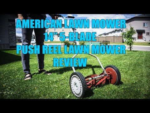 American Push Reel Lawn Mower.