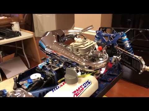 Part 11-5,K👑M X2/LOSI 5T SkoPod62 Install(Linkage,Brakes,New Fuel⛽️System Set Up for SkoPod Engine