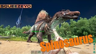 ARK Survival Evolved - Spinosaurus SHOWCASE (Spino)