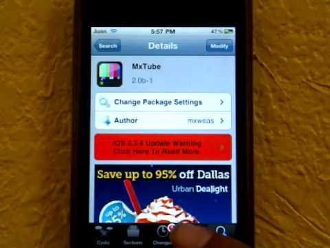How to Download YouTube Videos Directly to an iPod Touch 9 Steps