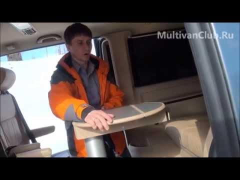 Тест драйв для Multivan T5 2.5 TDI Highline 2007 ГОДА ВЫПУСКА