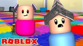TACANDO O TERROR NA CRECHE! - Roblox (Where's The Baby)