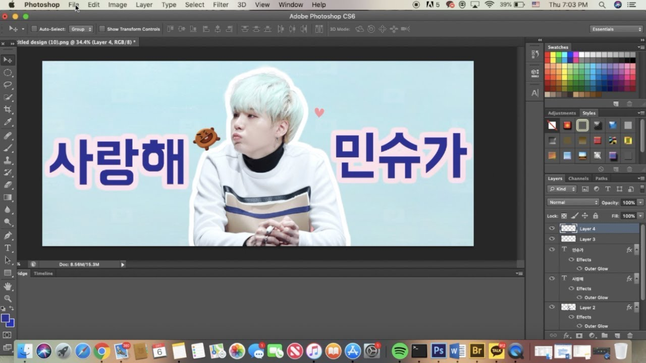 how to make a kpop slogan// making a bts slogan
