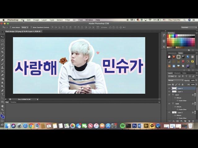how to make a kpop slogan// making a bts slogan