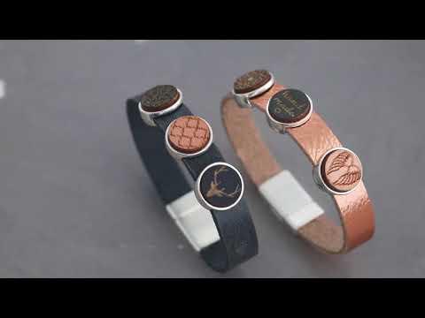 Inspiration Video - Holz Cabochons in Trendfarben und herrlichen Coatings!