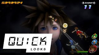 Kingdom Hearts: Melody of Memory: Quick Look (Video Game Video Review)