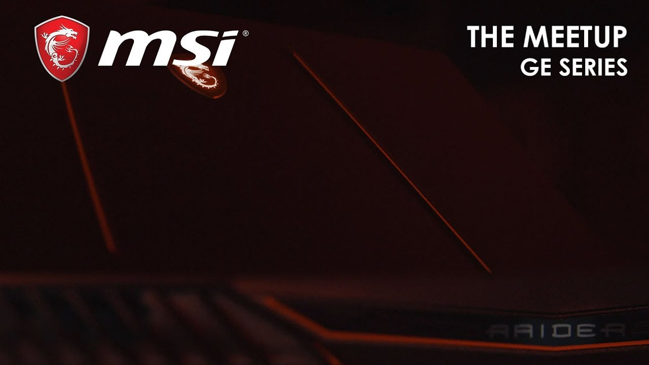 The Meetup – Ready to Party Up – GE Series   MSI