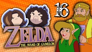 Zelda The Wand of Gamelon: The Magic Cape - PART 16 - Game Grumps