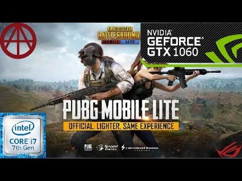PUBG LITE | Performance-test-GTX1060 6GB-cor I7 7700 | ROG GL502VM