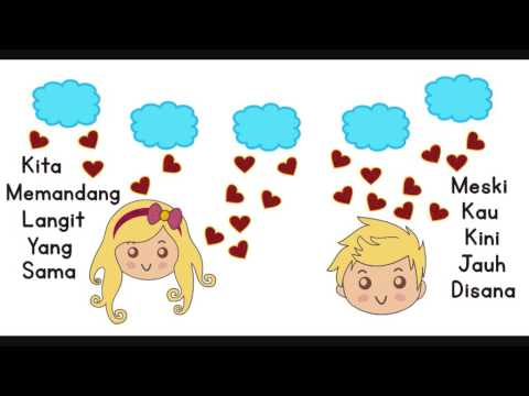 RAN - Dekat di Hati ( Stopmotion Lirik Video )